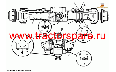 FRONT AXLE GROUP