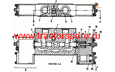 SPOOL SECTION GROUP - CHASSIS