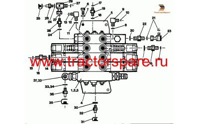 MAIN HYDRAULIC VALVE GROUP