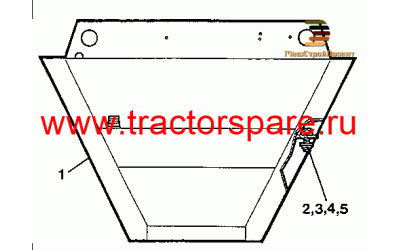 HYDRAULIC AND FUEL TANK MOUNTING GROUP