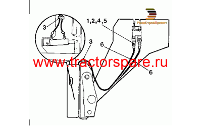HYDRAULIC PIPING GROUP - ROTATE FORKS,HYDRAULIC PIPING GROUP-ROTATE FORKS