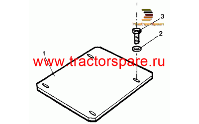 FRONT AXLE COVER GROUP