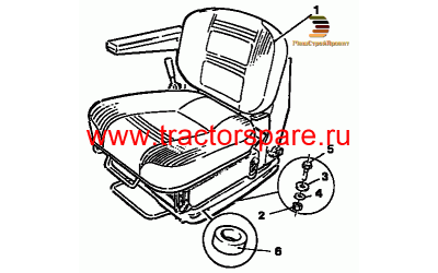 SEAT GROUP,SEAT GROUP (CLOTH) SUSPENSION