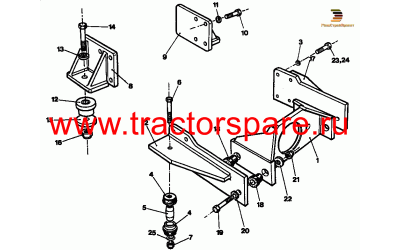 ENGINE MOUNTING AS
