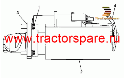 ELECTRIC STARTING MOTOR,ELECTRIC STARTING MOTOR GROUP,ELECTRIC STARTING MOTOR-24V,STARTING MOTOR GP-ELECTRIC
