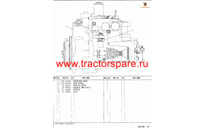 GOVERNOR GP-UNIT INJECTOR,GOVERNOR GROUP-UNIT INJECTOR