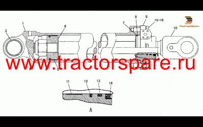 CYLINDER GP-LIFT,CYLINDER GROUP-LIFT,LIFT CYLINDER GROUP,LIFT CYLINDER GROUP -152MM BORE X 801MM STROKE,LIFT CYLINDER GROUP-152mm BORE × 800mm STROKE-L.H.