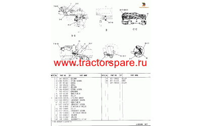 LINES GP-HYDRAULIC OIL COOLER,OIL COOLER LINES