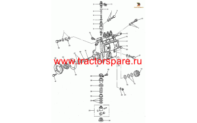 FUEL PUMP BODY ASSEMBLY